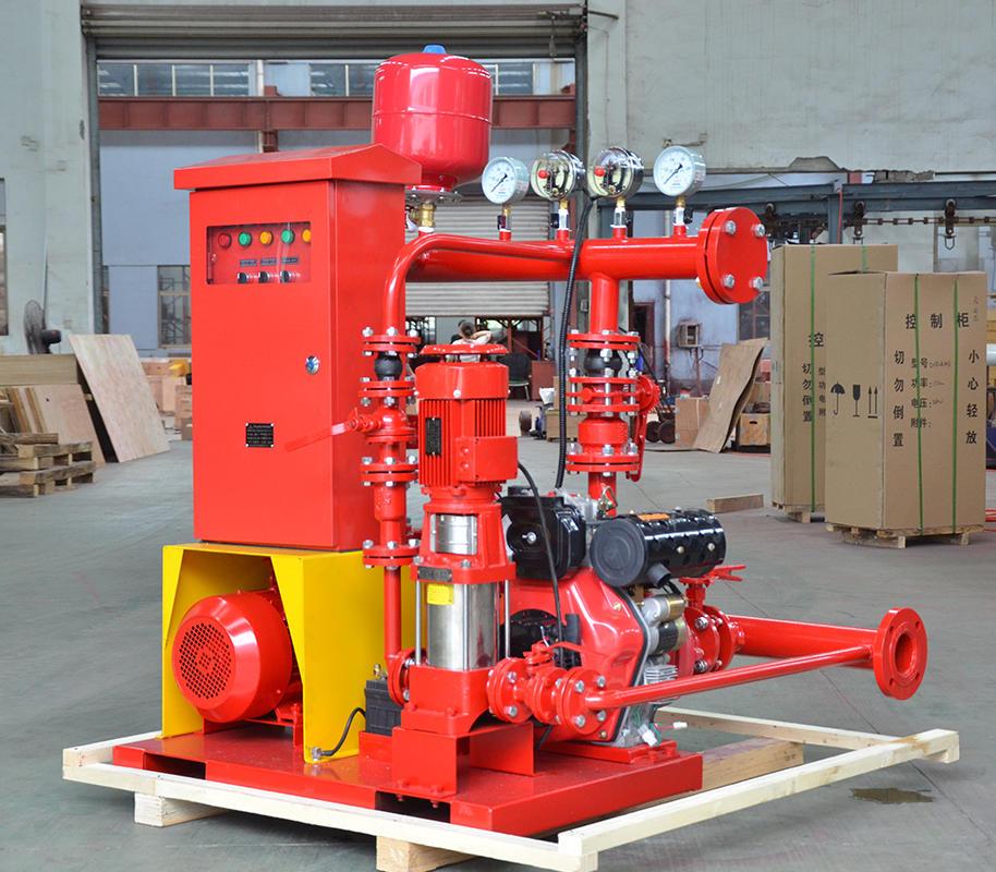 喜之泉3CF认证EDJ双动力柴油机消防泵组示例图3