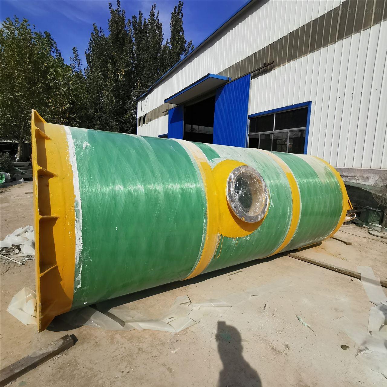 通化地埋式一体化预制泵站老泵站改造