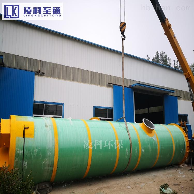 巴彦淖尔隔油污水提升设备安装环境