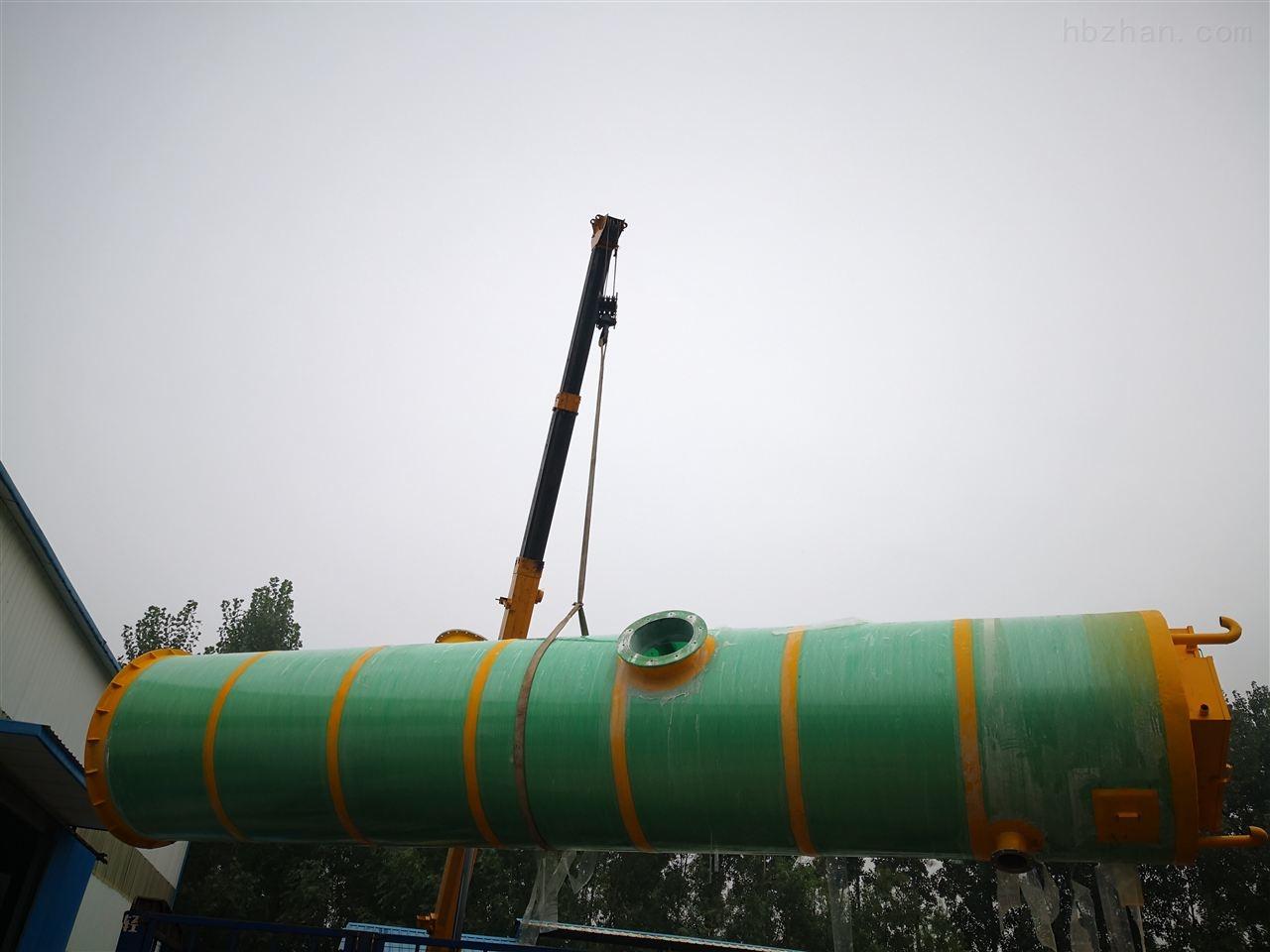 汕头一体化废水提升泵站达标排放