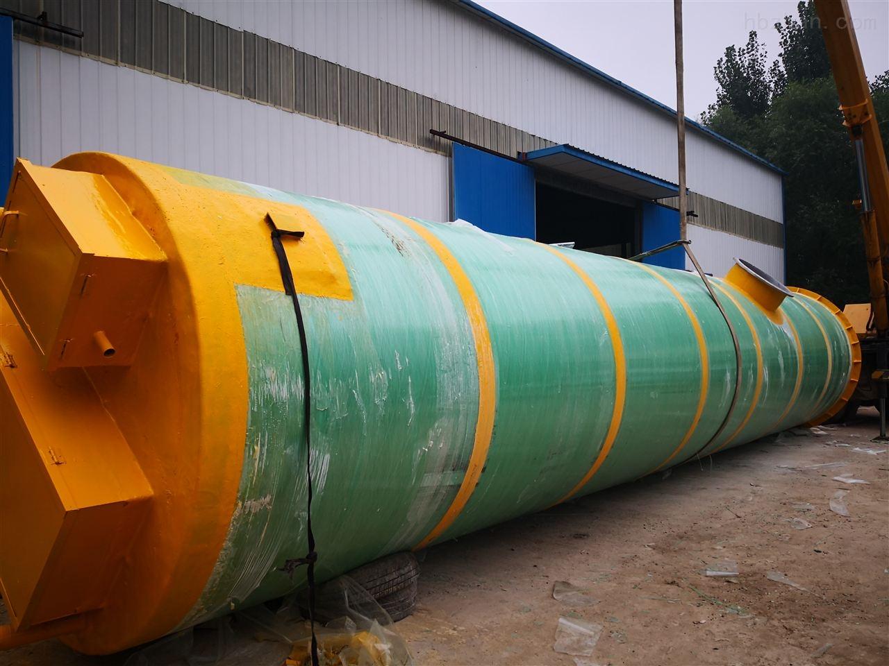 临沧地埋式一体化提升泵站污水处理成套设备