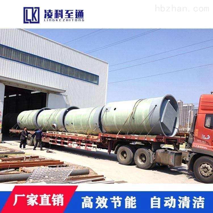 扬州小区一体化预制泵站技术参数