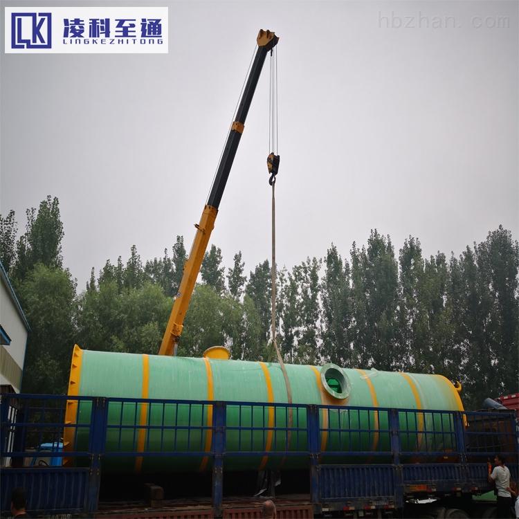 济南一体化废水提升泵站用于低洼处雨污水排涝