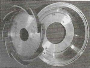 磁力泵隔板