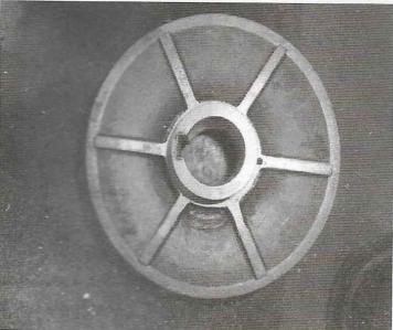 磁力泵一级叶轮平衡筋