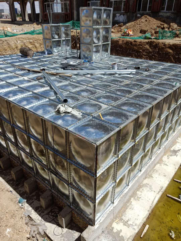 室外直埋式箱泵一体化消防泵站