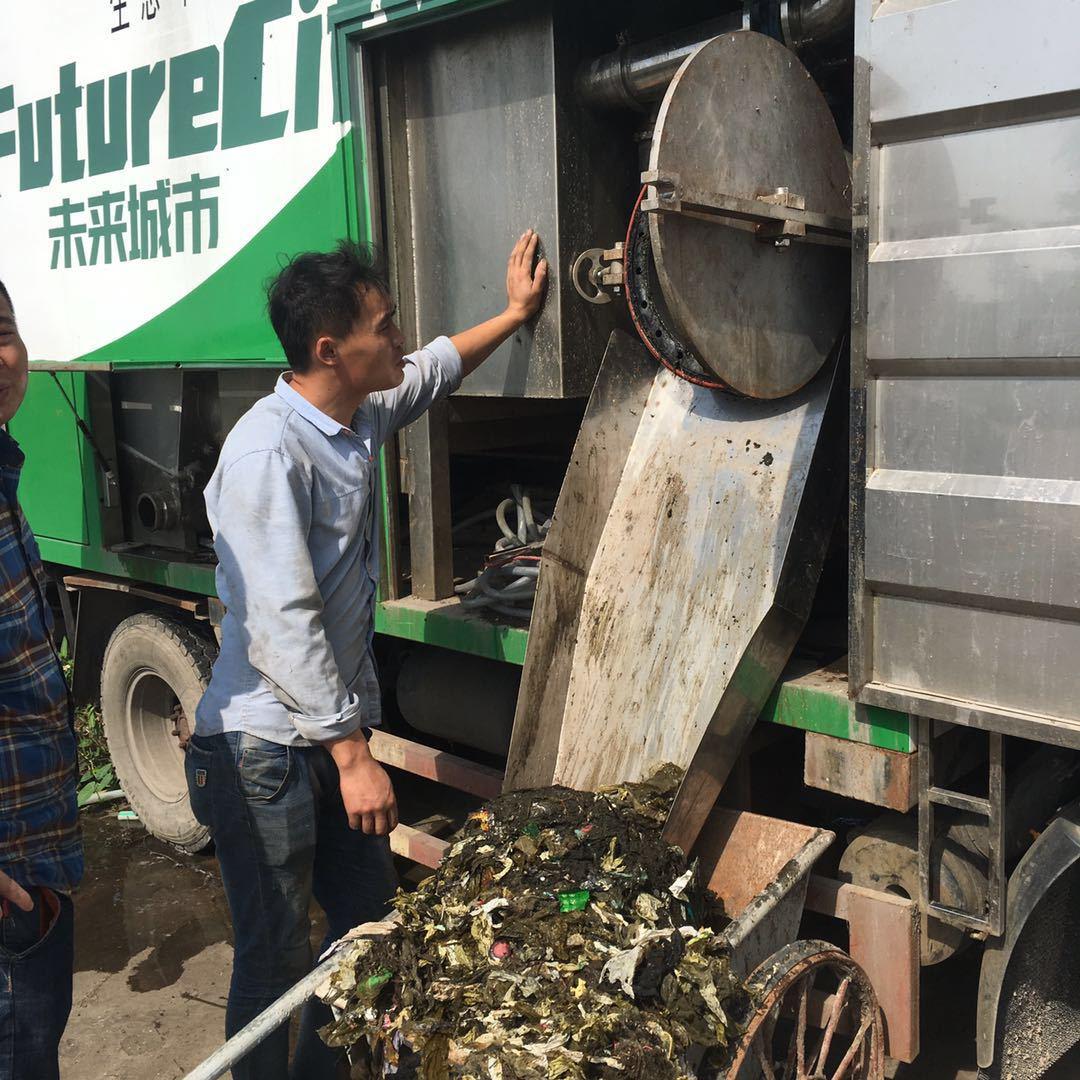 粪便无害化处理车垃圾单独分离