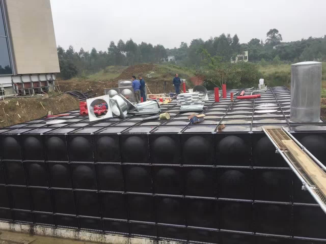 装配式BDF一体化地埋消防泵站