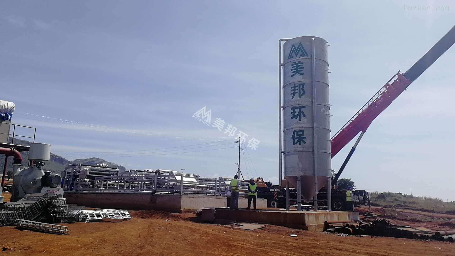 安徽砂石场泥浆处理设备效果