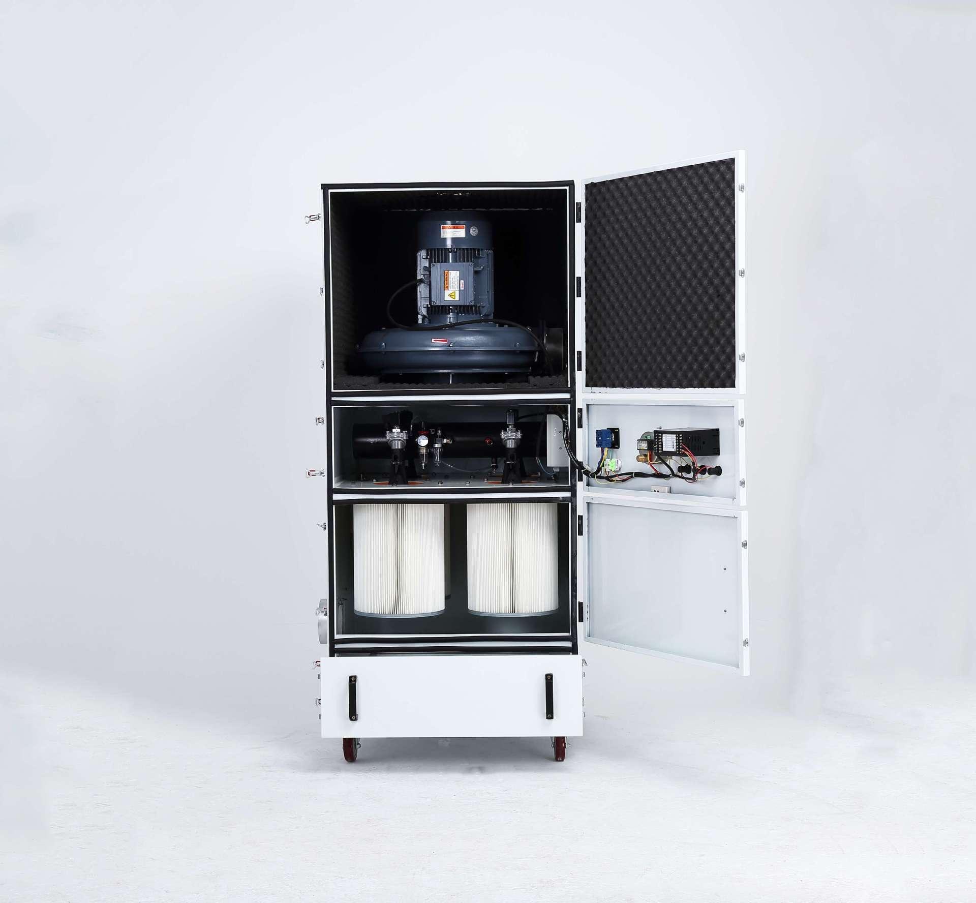 厂家 脉冲吸尘器 移动柜式磨床脉冲吸尘器生产厂家示例图4