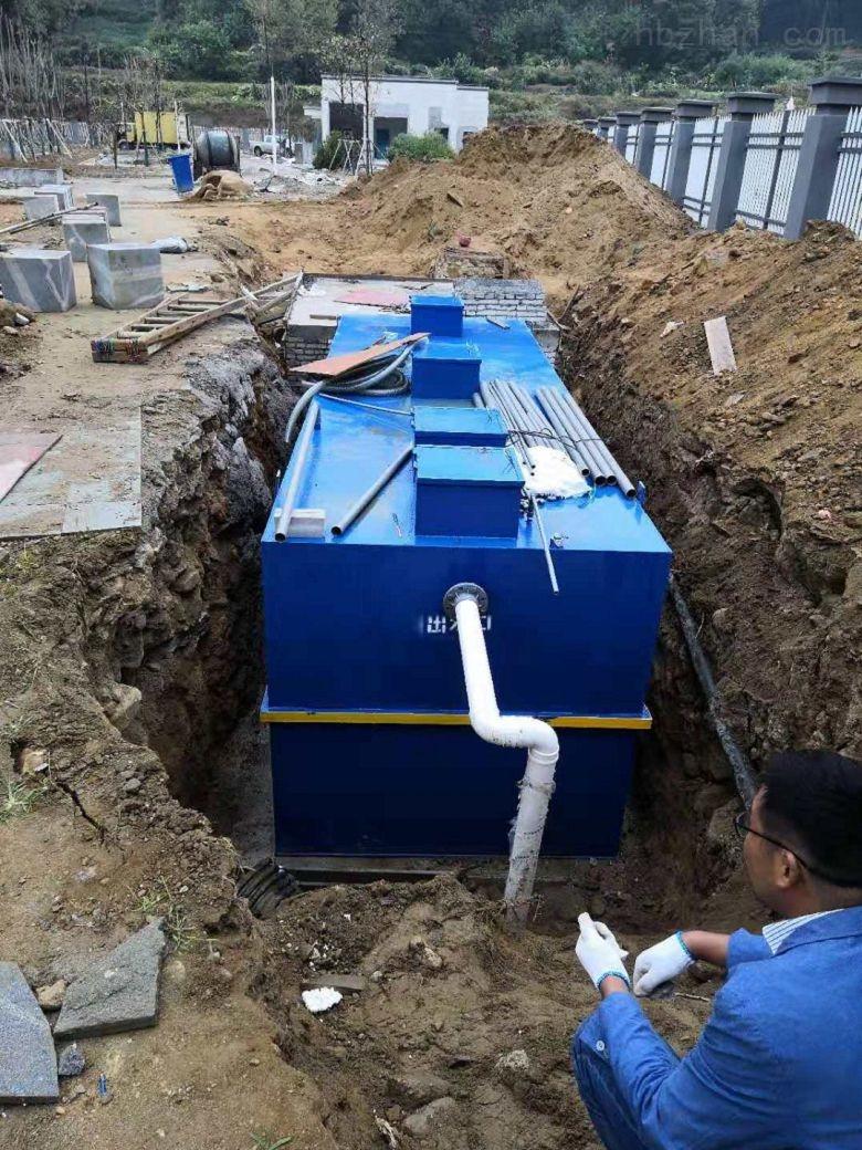 吕梁-一体化污水泵站技术