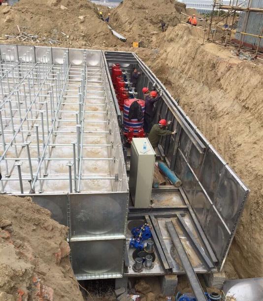 杭州物联型地埋消防增压供水泵站哪里有卖ZY6.0/20-2-XBF?