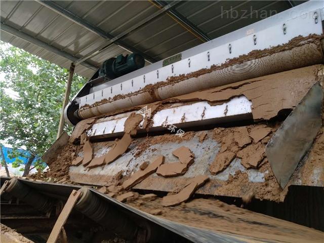 机制砂泥浆脱水设备机制砂污泥脱水处理效果
