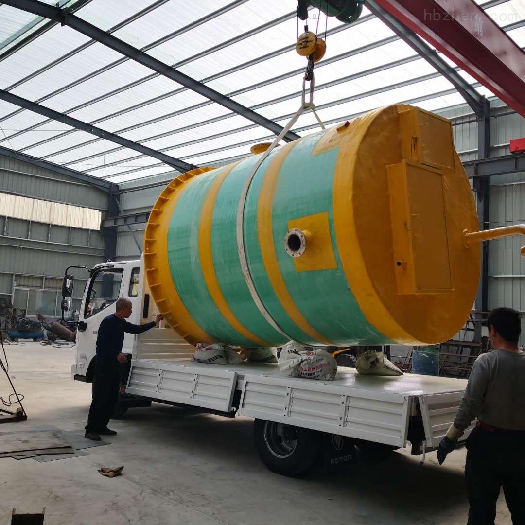 大庆预制式一体化泵站处理达标环保