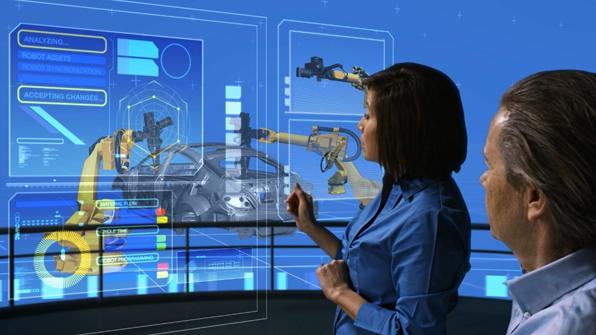 PLM软件以数字化方式创建和验证完整的产品和生产运营过程。