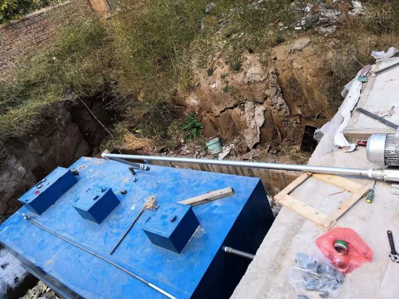 鹤岗-一体化预制泵站技术