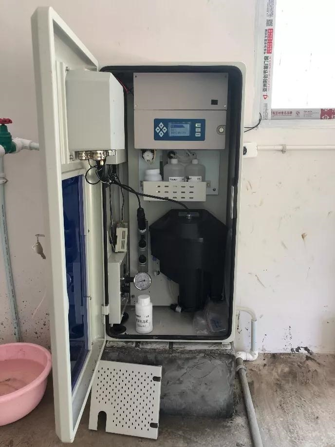 自来水水质在线监测一体机