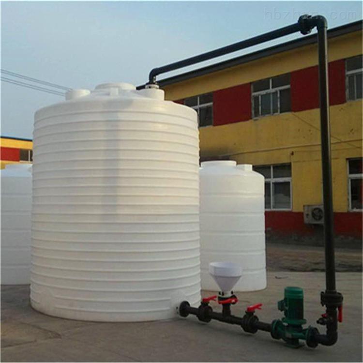 不长青苔8吨塑料储罐  工地蓄水水箱