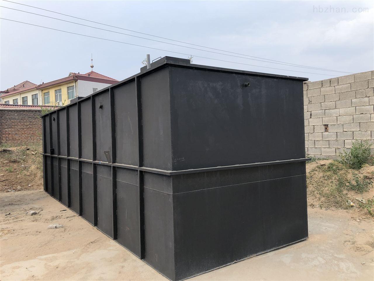 山东淄博食品厂污水处理设备安装调试
