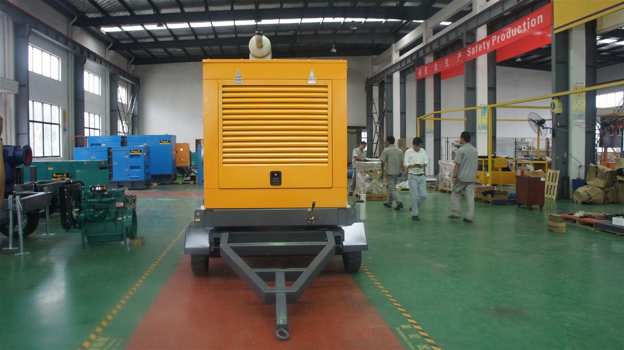 移动式柴油机水泵机组