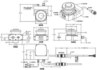 OS32C 外形尺寸 2