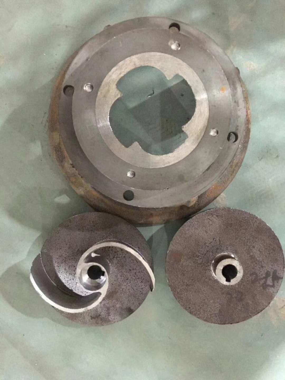双铰刀排污泵叶轮