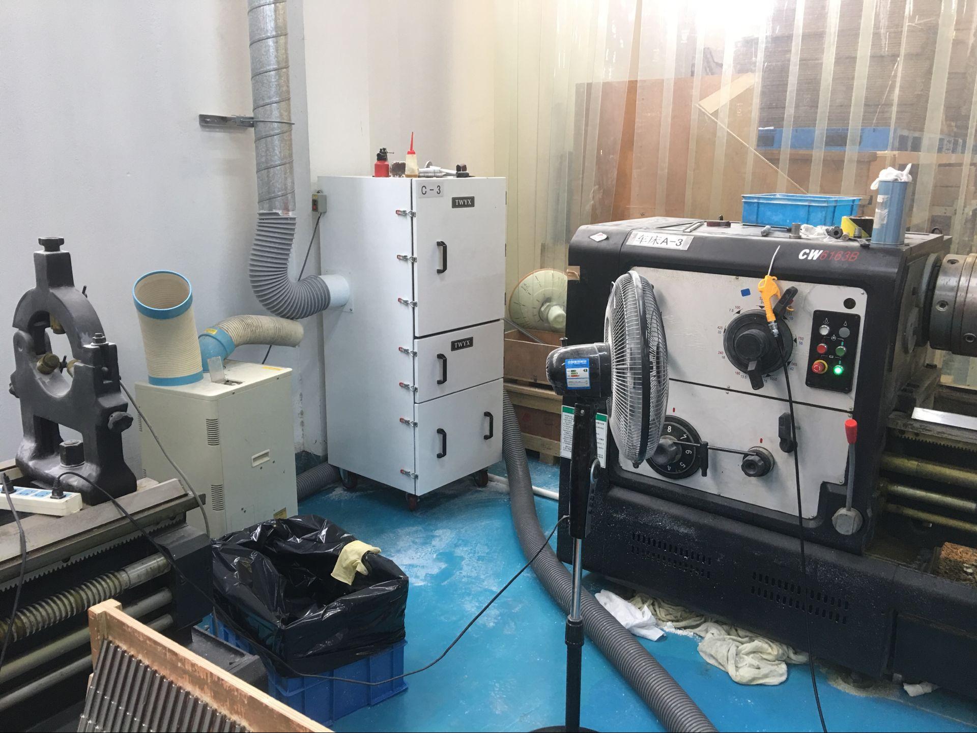 毛刺机工业集尘机  去毛刺机粉尘收集全自动脉冲工业集尘机示例图7