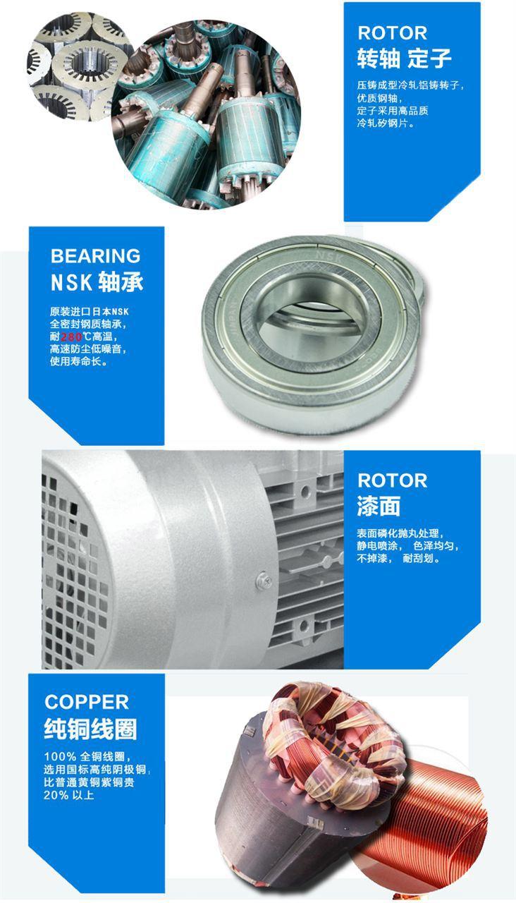 旋涡式气泵 高压旋涡风机 双叶轮旋涡式气泵示例图7