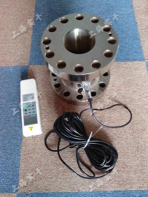 法兰电子推拉压测力计 量程10KN -100KN