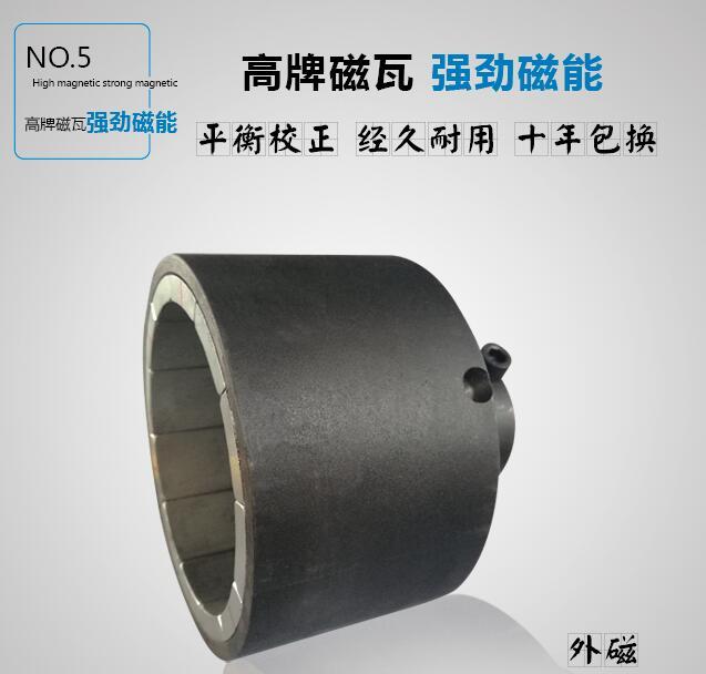 氟塑料磁力泵外磁钢