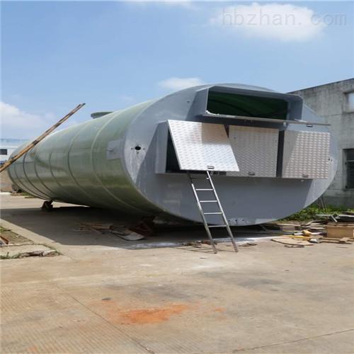 <strong>江西设计流量3000m3/d污水提升泵站</strong>