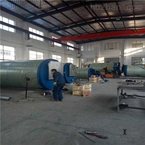 城镇污水改造每小时150吨一体化提升泵站