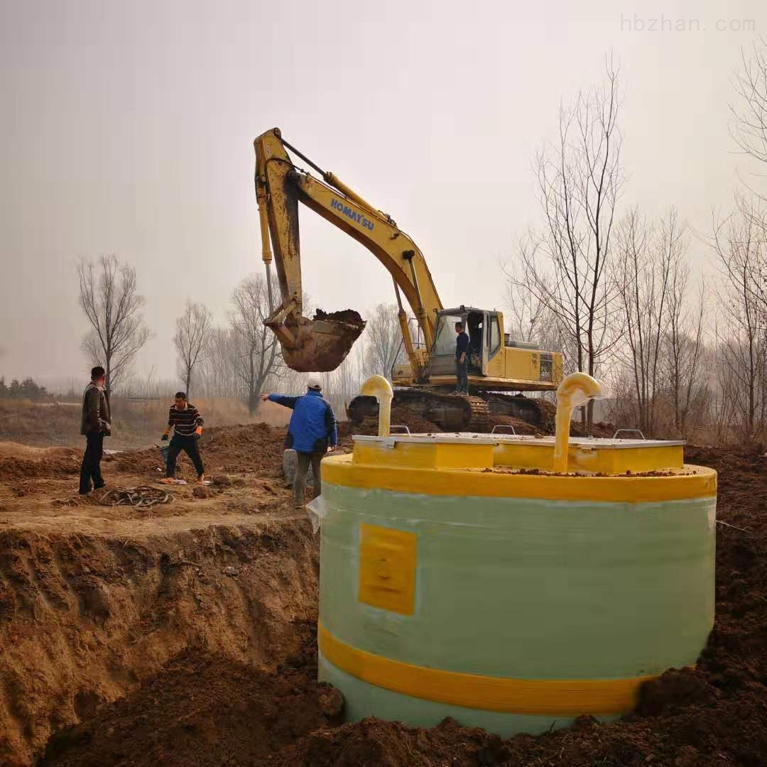 邯郸市全自动一体化提升泵站怎么安装