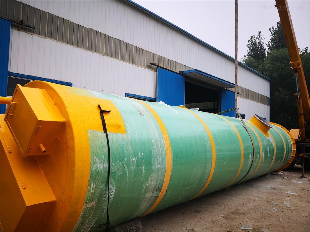 邢台市市政给排水一体化预制泵站工艺流程