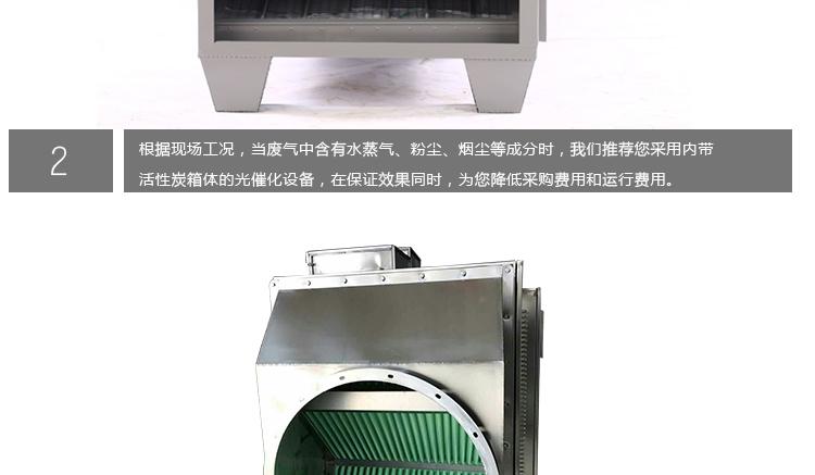 光催化废气处理设备高清细节实拍图3