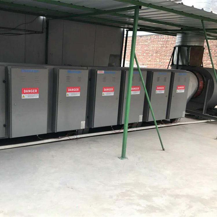 辽宁涂装废气处理工艺-汽车喷涂废气处理工艺工程实拍图1