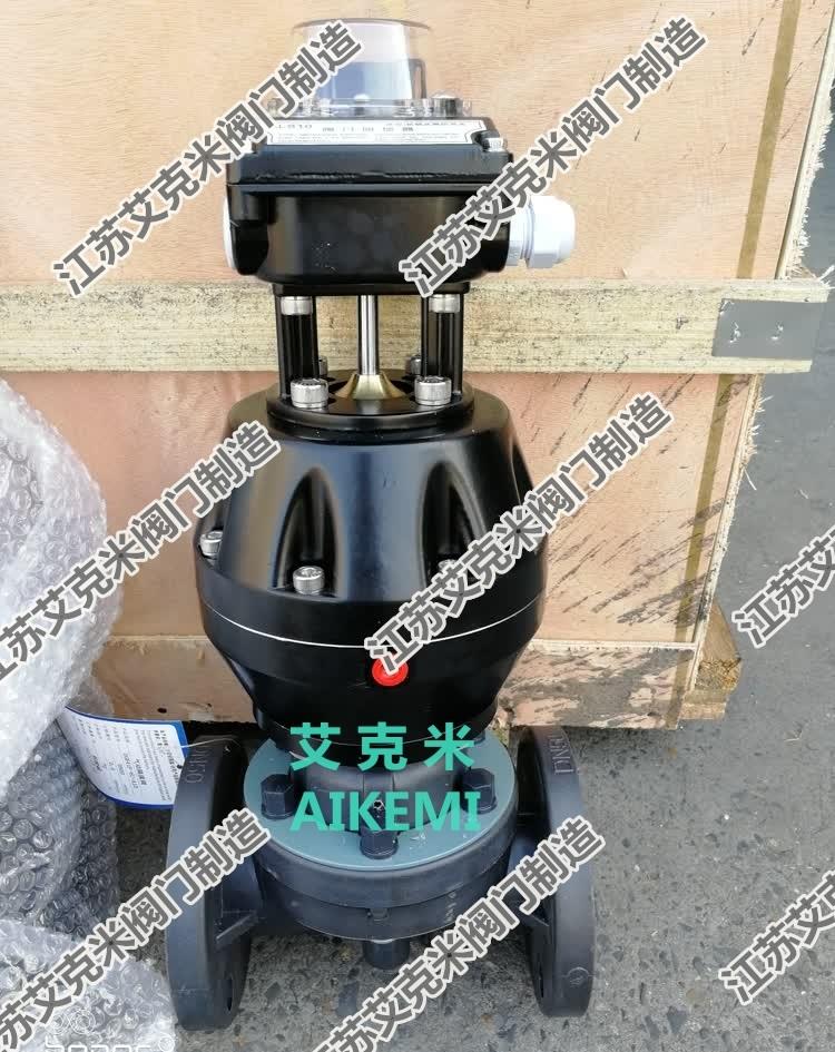 气动塑料隔膜阀G641F-6U