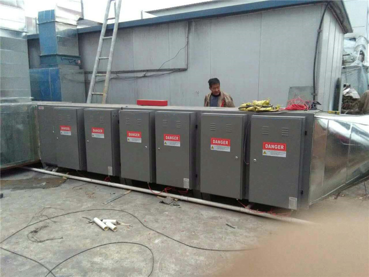 草木绿voc废气处理设备工程实拍图1