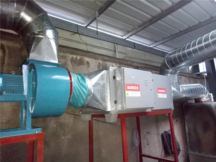 草木绿voc废气处理设备工程实拍图3