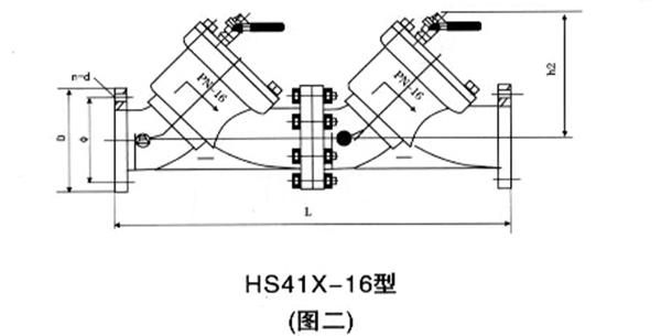 HS41X-A安全型带过滤防污隔断阀图