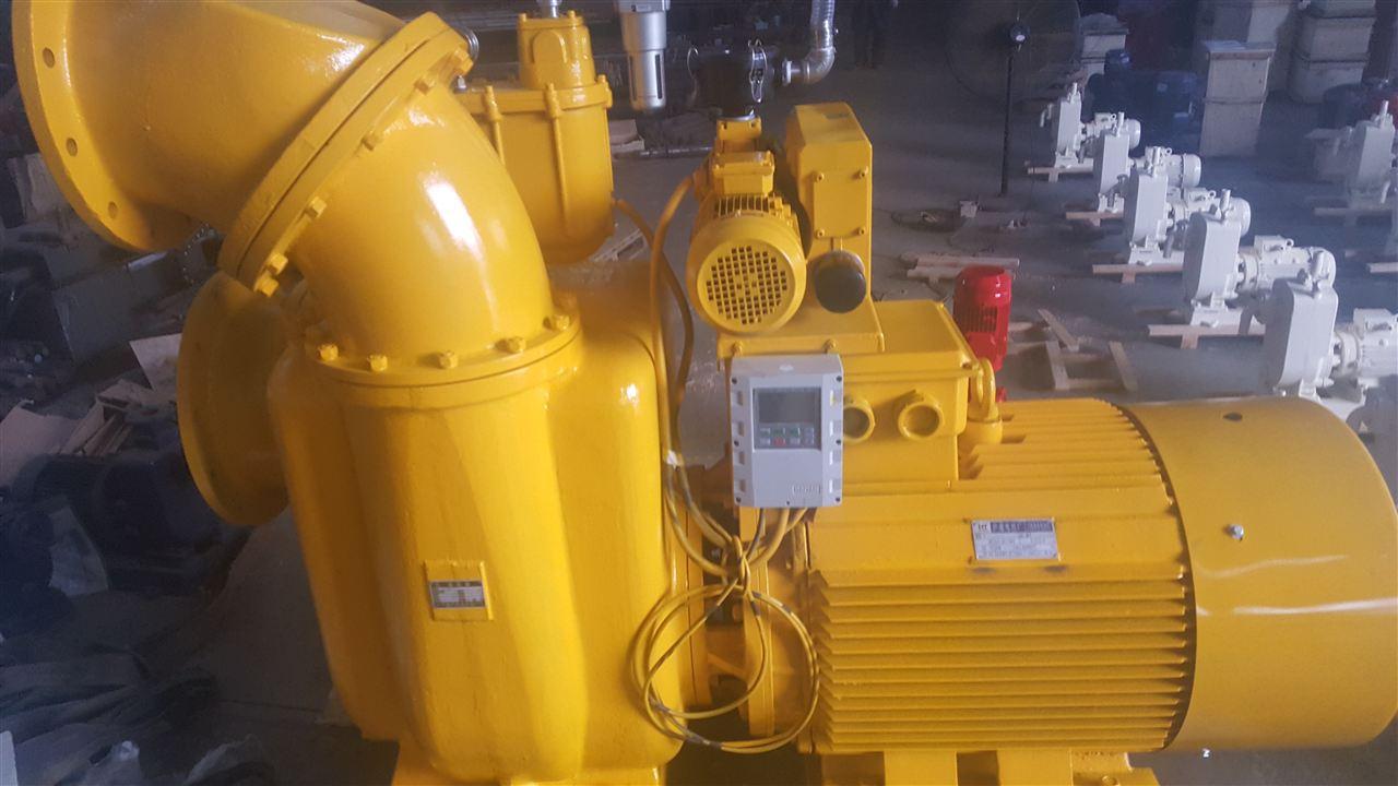 真空辅助强自吸污水泵