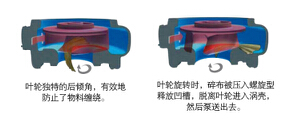 切割式自吸泵葉輪結構圖