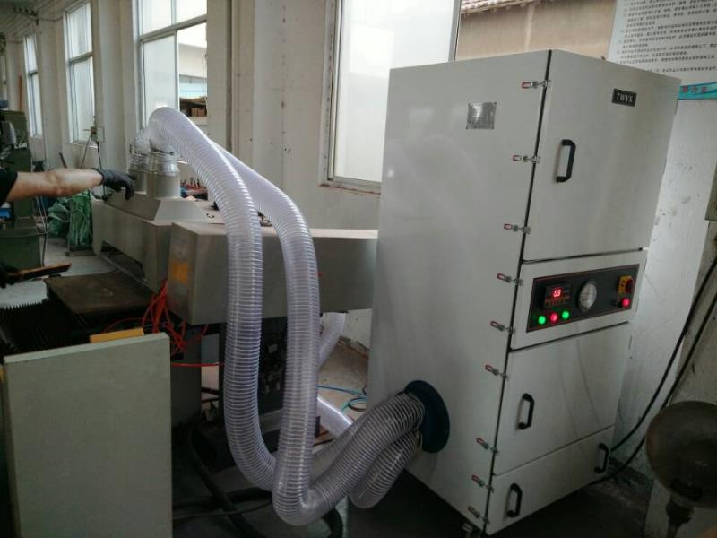 抛光打磨粉尘收集 工业除尘器 表面抛光除锈打磨脉冲工业除尘器示例图6