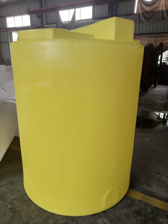 谦源2000L塑料搅拌桶 苛性钠储罐