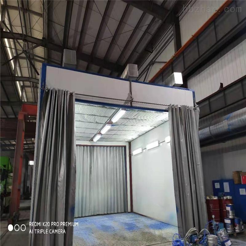 江苏地吸式喷漆房设备专业定制