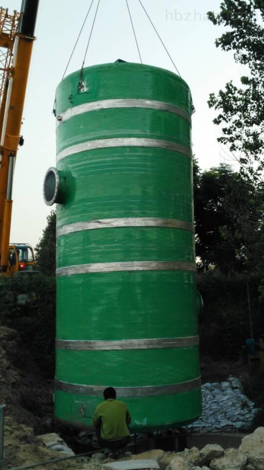 陇南雨水提升泵站厂家批发