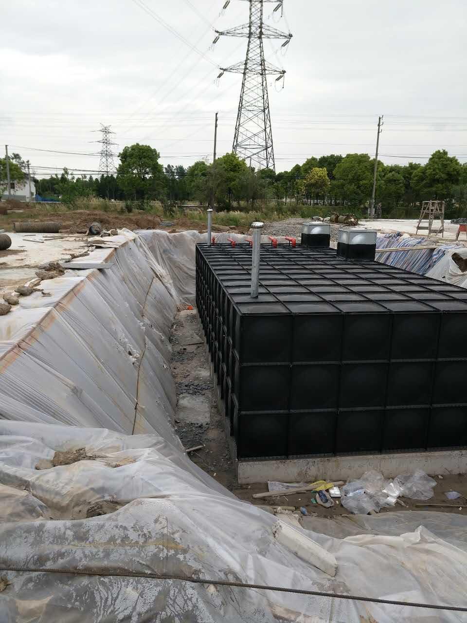 福建福州1260吨地埋箱泵一体化消防泵站行业领头厂家