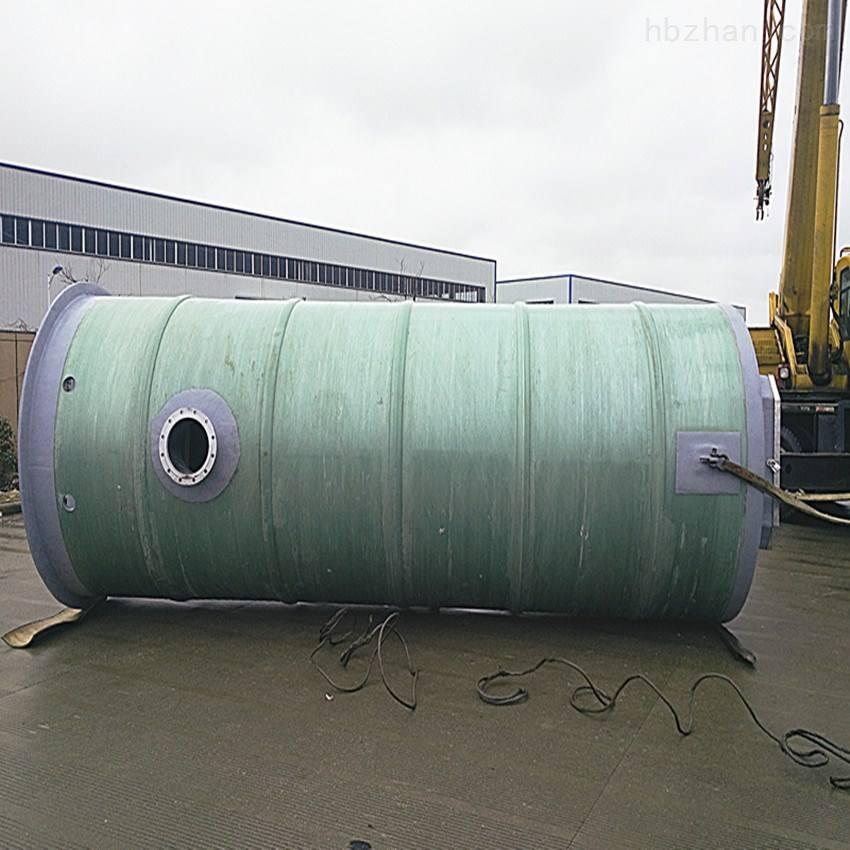 上饶 玻璃钢雨水泵站