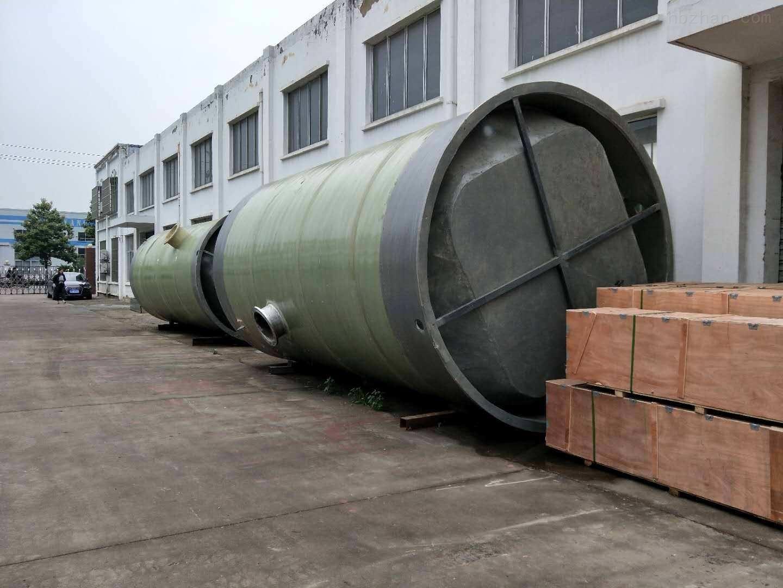新余 无碱缠绕式GRP泵站