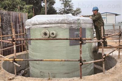 江西无碱GRP玻璃钢泵站